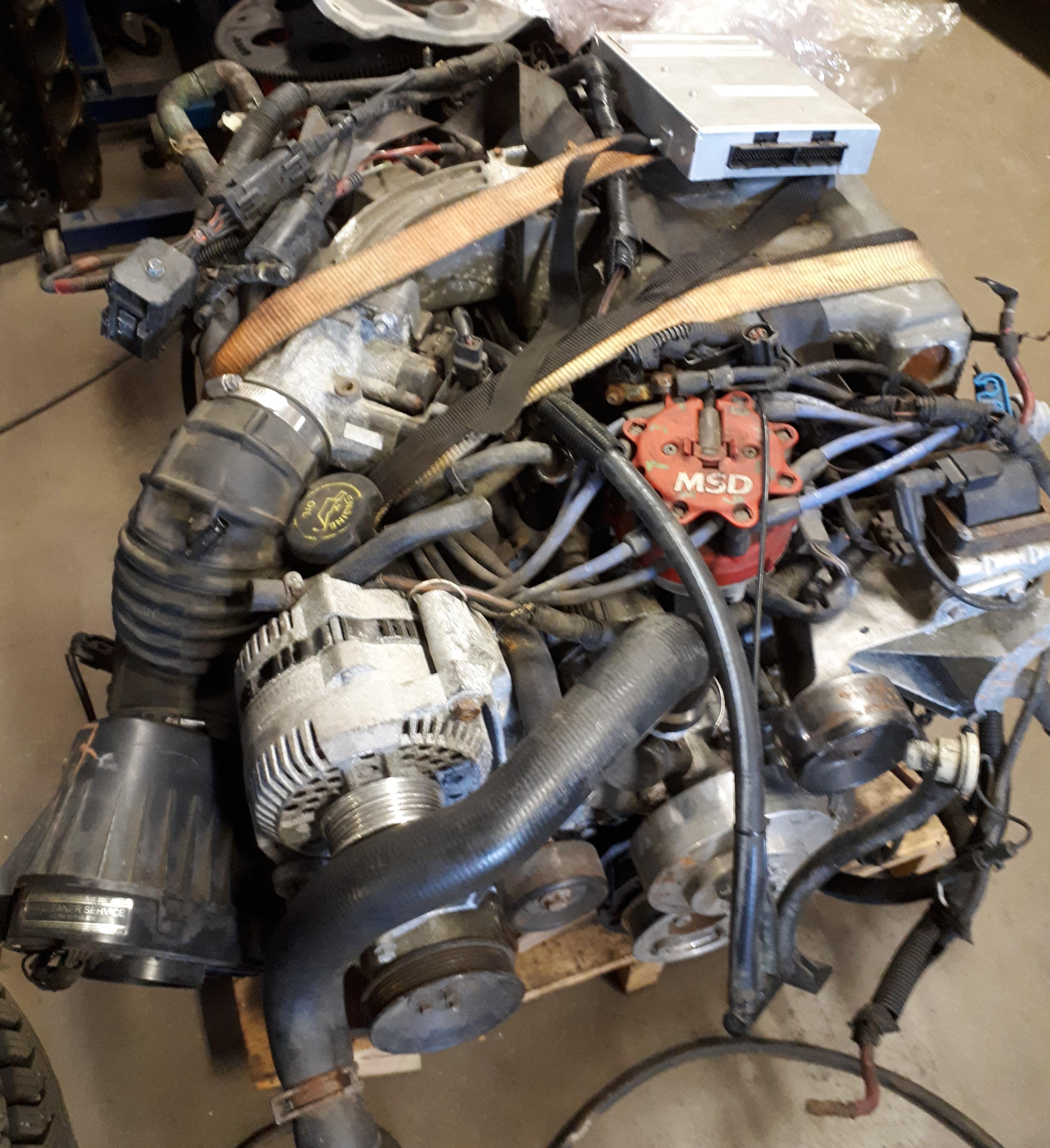 begagnade v8 motorer
